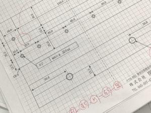 設計図面エクセルポンチ
