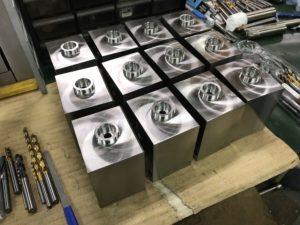 5軸マシニングセンタ加工品